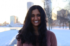 Senior Coordinator Sanjana Kumar